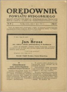 Orędownik Powiatu Bydgoskiego, 1932, nr 27