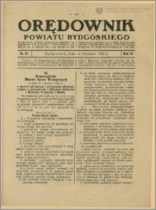 Orędownik Powiatu Bydgoskiego, 1932, nr 37