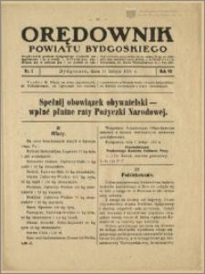 Orędownik Powiatu Bydgoskiego, 1934, nr 7