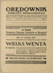 Orędownik Powiatu Bydgoskiego, 1934, nr 15