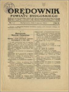 Orędownik Powiatu Bydgoskiego, 1936, nr 1