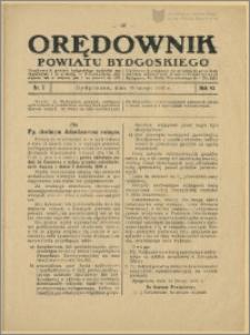 Orędownik Powiatu Bydgoskiego, 1936, nr 7