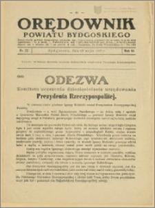 Orędownik Powiatu Bydgoskiego, 1936, nr 22