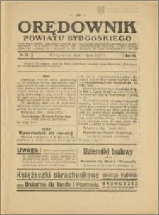 Orędownik Powiatu Bydgoskiego, 1937, nr 27