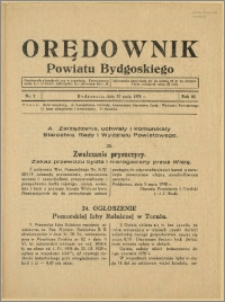 Orędownik Powiatu Bydgoskiego, 1938, nr 7