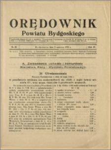Orędownik Powiatu Bydgoskiego, 1938, nr 10