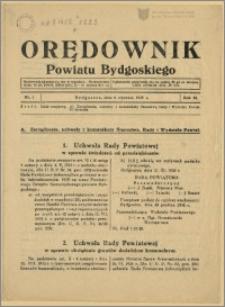 DOrędownik Powiatu Bydgoskiego, 1939, nr 1