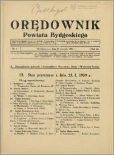 DOrędownik Powiatu Bydgoskiego, 1939, nr 4
