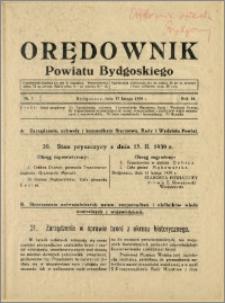 DOrędownik Powiatu Bydgoskiego, 1939, nr 7