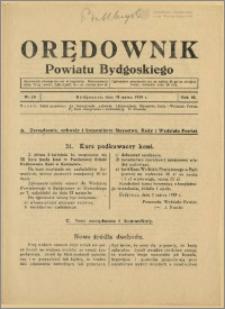 DOrędownik Powiatu Bydgoskiego, 1939, nr 10