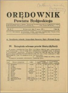 DOrędownik Powiatu Bydgoskiego, 1939, nr 13