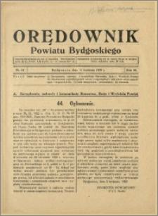 DOrędownik Powiatu Bydgoskiego, 1939, nr 15