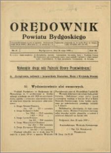 DOrędownik Powiatu Bydgoskiego, 1939, nr 21
