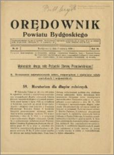 DOrędownik Powiatu Bydgoskiego, 1939, nr 22