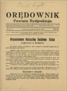 DOrędownik Powiatu Bydgoskiego, 1939, nr 32