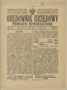 Orędownik Urzędowy Powiatu Bydgoskiego, 1923, nr 24