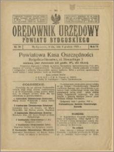 Orędownik Urzędowy Powiatu Bydgoskiego, 1923, nr 50