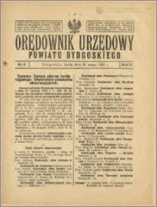 Orędownik Urzędowy Powiatu Bydgoskiego, 1924, nr 8