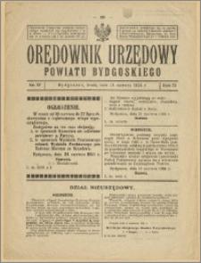 Orędownik Urzędowy Powiatu Bydgoskiego, 1924, nr 27