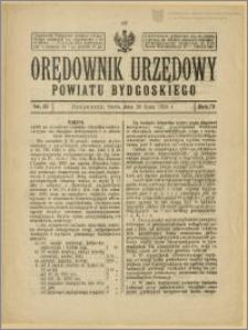 Orędownik Urzędowy Powiatu Bydgoskiego, 1924, nr 32