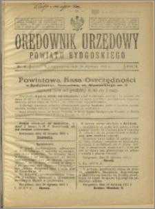 Orędownik Urzędowy Powiatu Bydgoskiego, 1925, nr 4