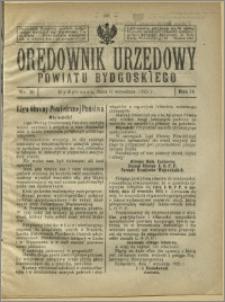 Orędownik Urzędowy Powiatu Bydgoskiego, 1925, nr 33