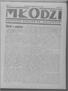 Młodzi, R. III (1934), nr 1