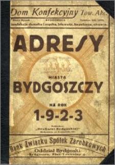 Adresy Miasta Bydgoszczy na rok 1923