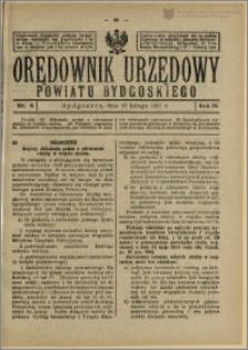 Orędownik Urzędowy Powiatu Bydgoskiego, 1927, nr 8
