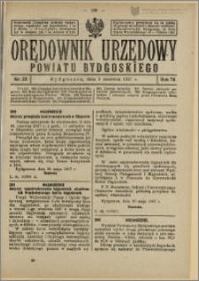 Orędownik Urzędowy Powiatu Bydgoskiego, 1927, nr 23
