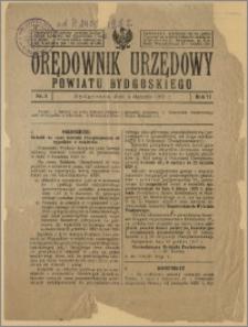 Orędownik Urzędowy Powiatu Bydgoskiego, 1928, nr 1
