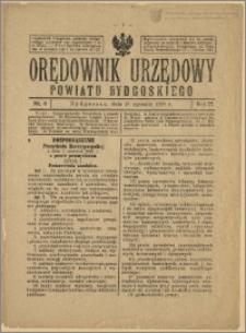 Orędownik Urzędowy Powiatu Bydgoskiego, 1928, nr 3