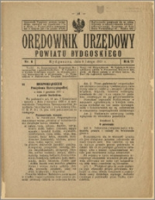 Orędownik Urzędowy Powiatu Bydgoskiego, 1928, nr 6