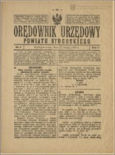 Orędownik Urzędowy Powiatu Bydgoskiego, 1928, nr 8