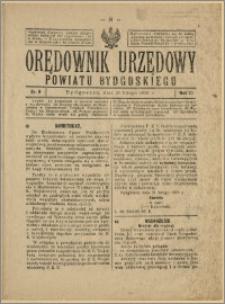 Orędownik Urzędowy Powiatu Bydgoskiego, 1928, nr 9