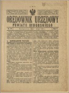 Orędownik Urzędowy Powiatu Bydgoskiego, 1928, nr 10