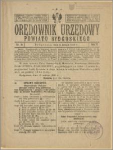 Orędownik Urzędowy Powiatu Bydgoskiego, 1928, nr 11