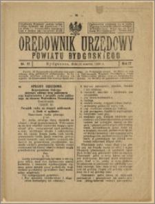 Orędownik Urzędowy Powiatu Bydgoskiego, 1928, nr 12