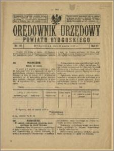 Orędownik Urzędowy Powiatu Bydgoskiego, 1928, nr 13