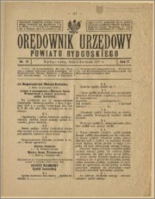 Orędownik Urzędowy Powiatu Bydgoskiego, 1928, nr 14