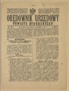Orędownik Urzędowy Powiatu Bydgoskiego, 1928, nr 16
