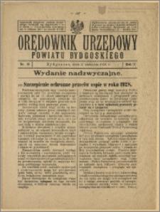 Orędownik Urzędowy Powiatu Bydgoskiego, 1928, nr 18