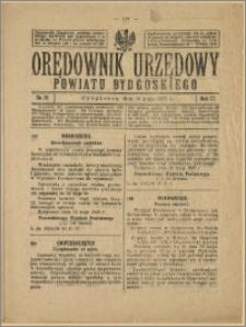 Orędownik Urzędowy Powiatu Bydgoskiego, 1928, nr 21