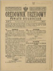 Orędownik Urzędowy Powiatu Bydgoskiego, 1928, nr 25