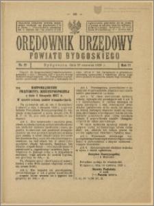 Orędownik Urzędowy Powiatu Bydgoskiego, 1928, nr 27
