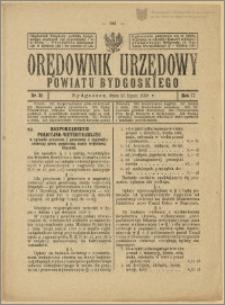Orędownik Urzędowy Powiatu Bydgoskiego, 1928, nr 31
