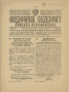 Orędownik Urzędowy Powiatu Bydgoskiego, 1928, nr 32