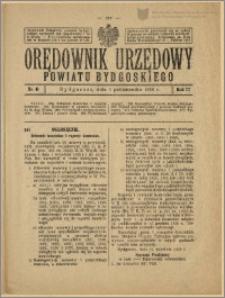 Orędownik Urzędowy Powiatu Bydgoskiego, 1928, nr 41