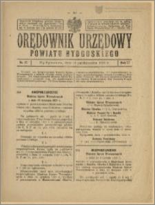 Orędownik Urzędowy Powiatu Bydgoskiego, 1928, nr 42
