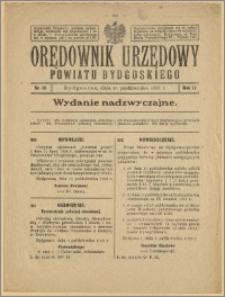 Orędownik Urzędowy Powiatu Bydgoskiego, 1928, nr 43